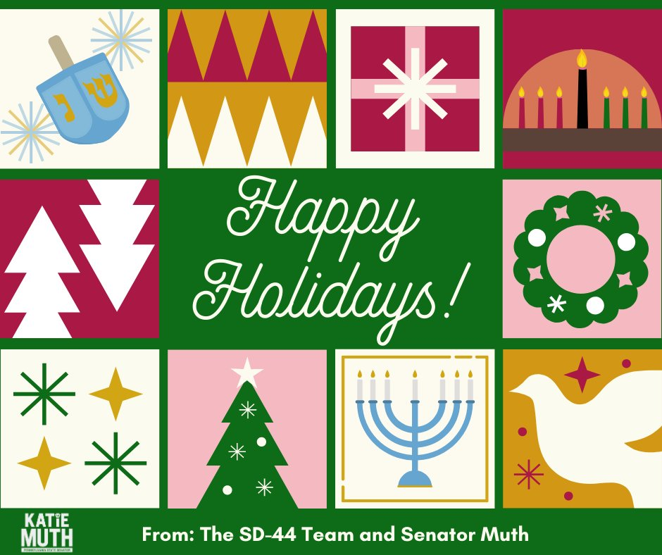 ⛄️My team and I wish you a happy holiday season! If traveling, please be safe! 🎄
