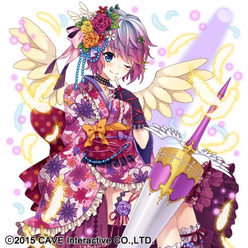HAPPY BIRTHDAY 今日は、花から生まれた小さな女の子キースネリスと、自分を天使の生まれ変わりだと信じ続ける、翼を生やした少女テシエルの誕生日。 2人にとって、素敵な1年になりますように!【広報らぶま】 ゴ魔乙… https://t.co/nm9fRzMw0B
