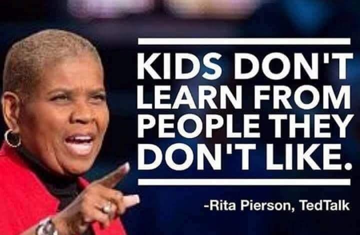 Knowing kids, not just content, is what makes teachers excellent. #teachergoals