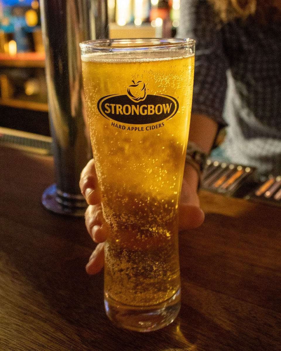 Seasons greetings from Strongbow! #Delicious https://t.co/7gAcF5TuWu