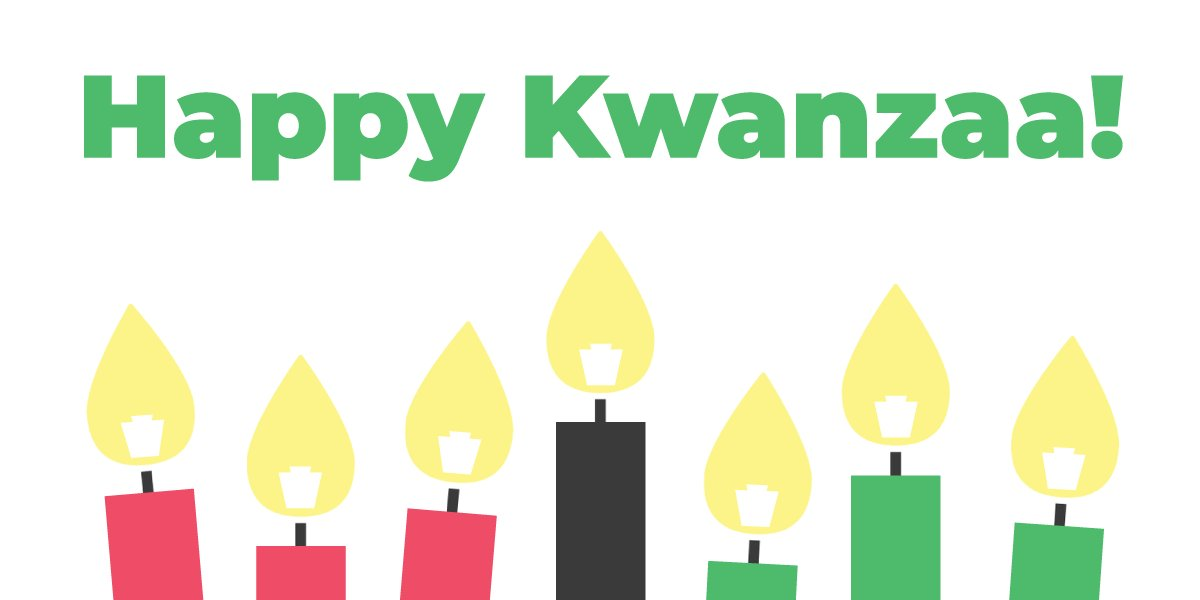 Happy Kwanzaa, Pennsylvania!