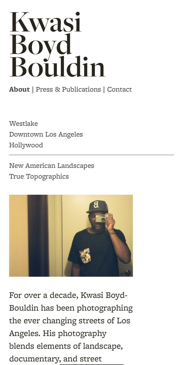 New site for 2020... kwasiboydbouldin.com #documentary #streetphotography #losangeles