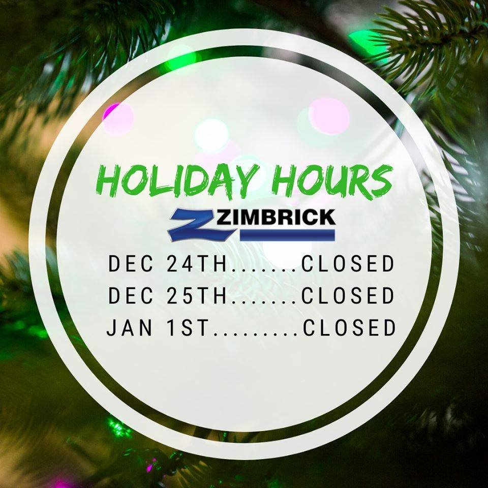 We will be closed on Christmas Eve, Christmas Day and New Years Day. We hope everyone has a great holiday season! Dont miss out on some awesome year end pricing going on right now! Only 8 more business days to get the gift you actually want for the holidays! 🎄