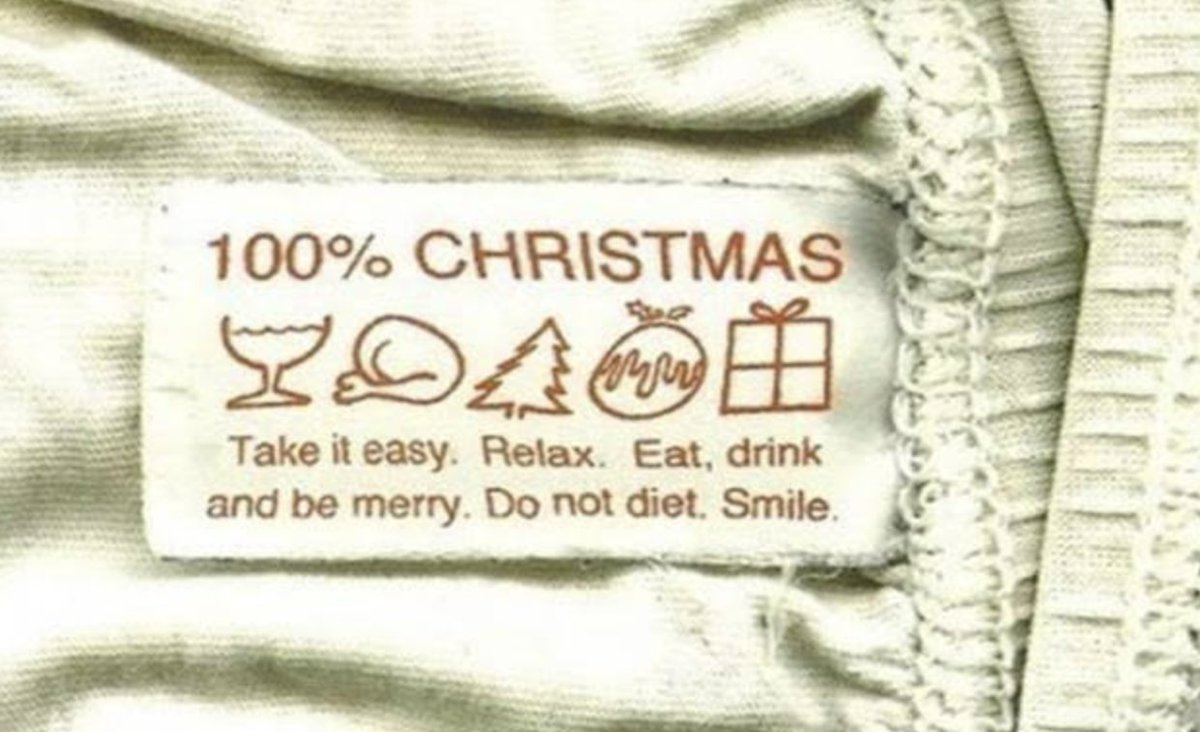 Always follow the care instructions.🎄