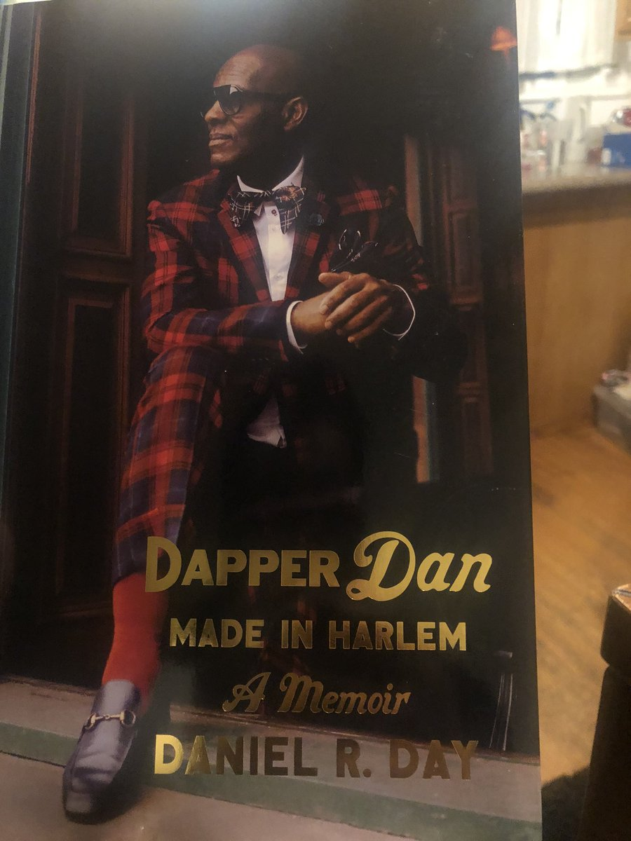 What I'm reading this holiday break. #Books are the perfect gift  plus I love @DapperDanHarlem and his story. #MadeInHarlem #MadeAtDaps <br>http://pic.twitter.com/QCgvzXa7fn