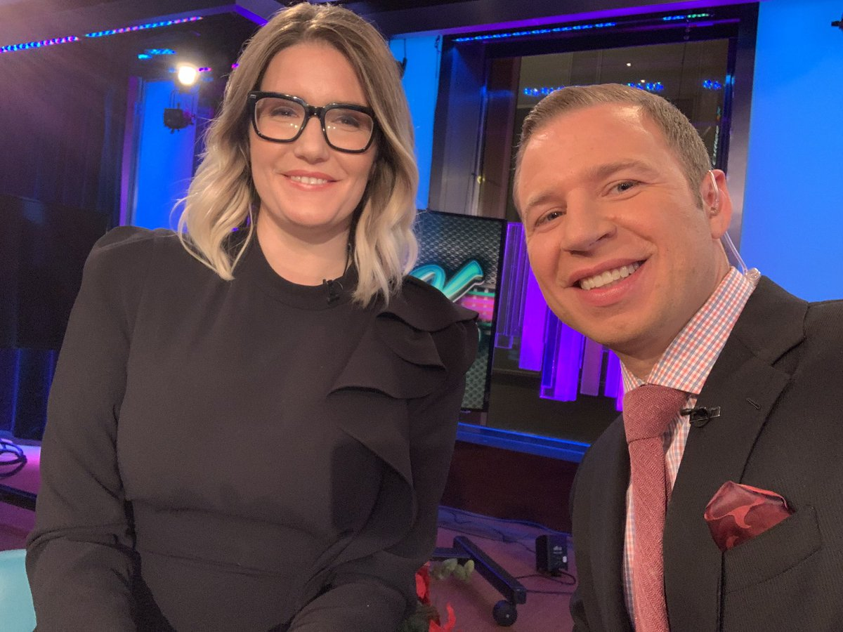 Great to meet you @InezFeltscher 💯 Nice job on tonight's party panel 🙌🏼 #FoxBusiness @KennedyNation