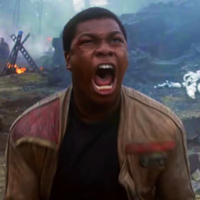 """JTE on Twitter: """"Man... John Boyega deserves better than just repeatedly  screaming """"REY!"""" in every movie. A great actor wasted in a trilogy because  it had no plan.… https://t.co/7CgPsxGgNE"""""""