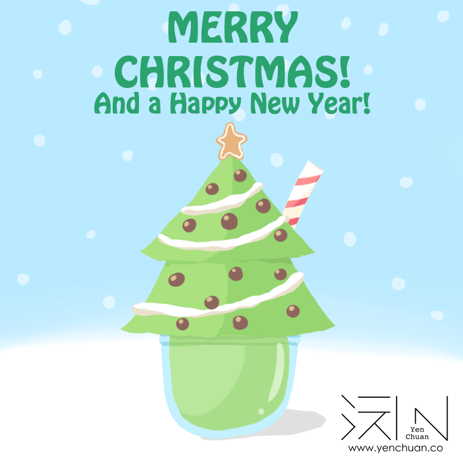 Tomorrow is Christmas day, so it's time for a bit of early Christmas cheer! Happy holidays, and here's to another year of delicious boba! #bubbletea #bobatea #lovebubbletea #bobalove