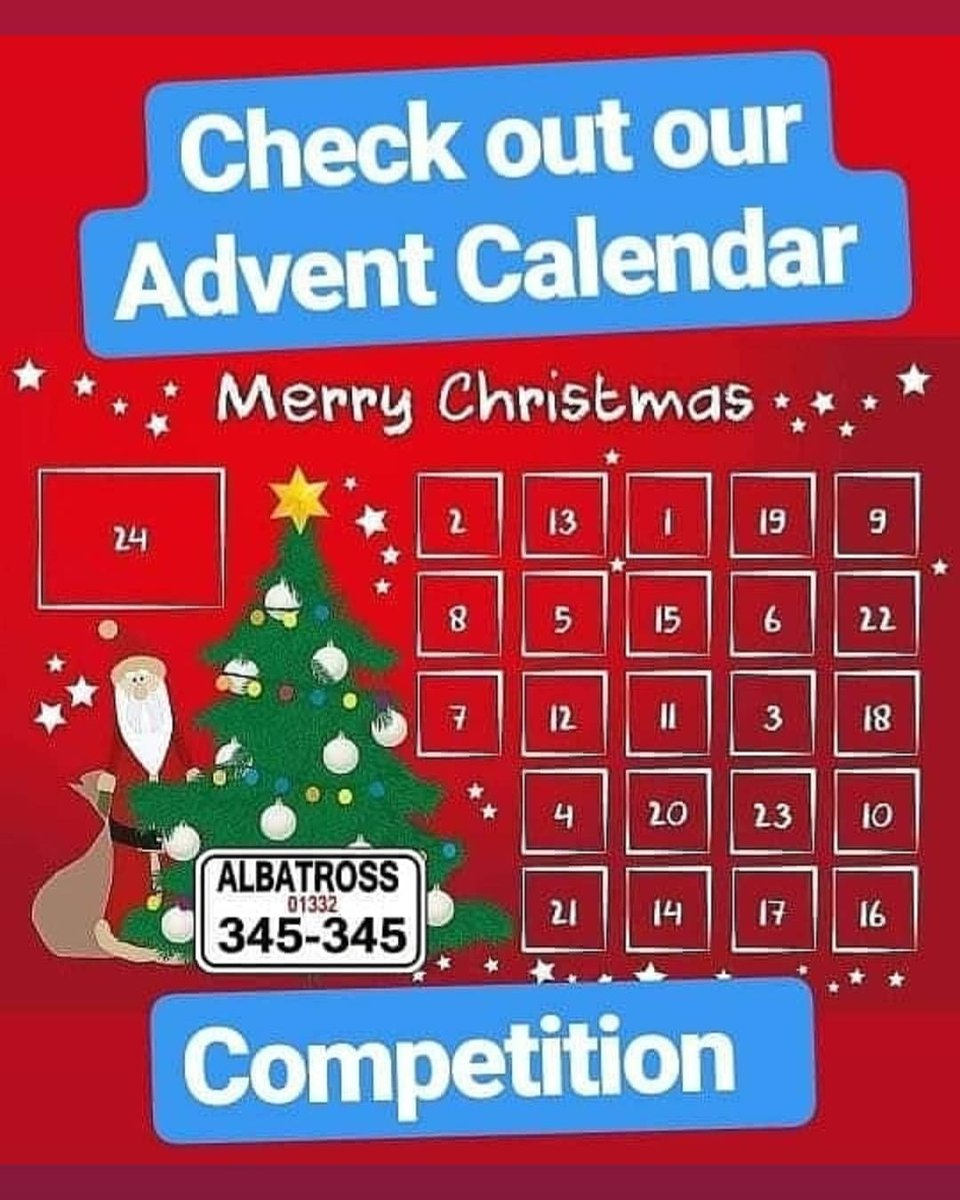 Final day! Like our Page,Retweet & Tag a friend to enter our #AdventCalendar #competition We've picked one #winner every day!   Every entrant is automatically entered into the final draw today #ChristmasEve where we will be giving away a #BonusPrize<br>http://pic.twitter.com/VQ5ldlilOZ