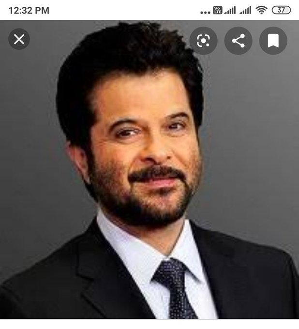 Birthday_ to the Evergreen Superstar Bollywood Anil Kapoor Sir