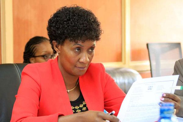 TSC Chief Executive Officer Dr Nancy Njeri Macharia.