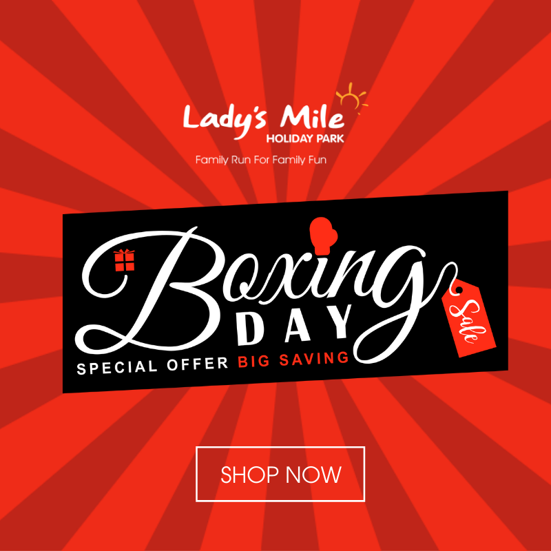 OUR BOXING DAY SALE IS LIVE 🥊 💲 We have a MASSIVE 15% OFF all our 2020 holidays at Ladys Mile Holiday Park & Oakcliff Holiday Park! Hurry, sale ends soon! >> bit.ly/Ladys-Mile-Box…