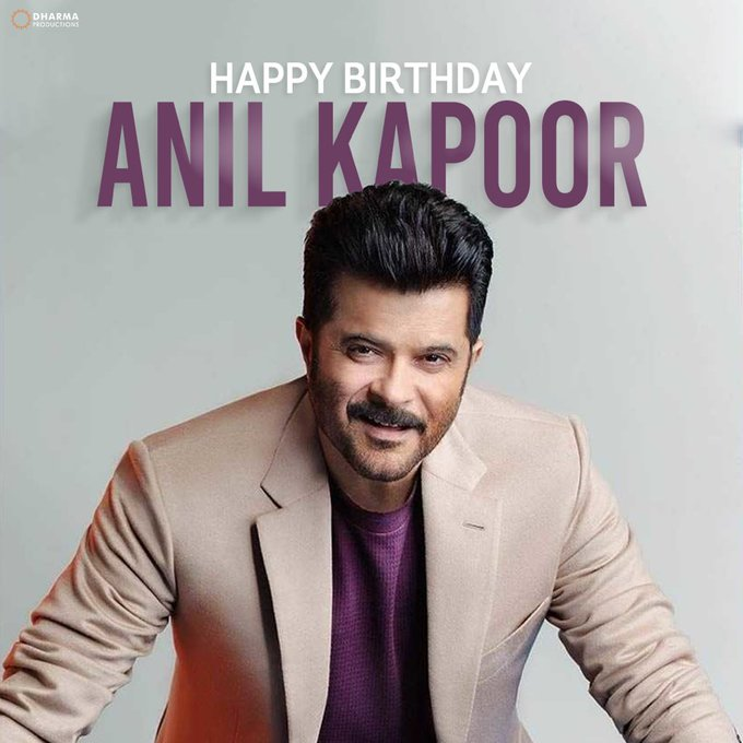 Happy birthday Anil Kapoor sir