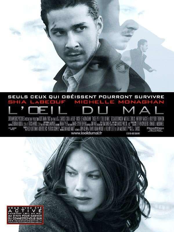 L'oeil du mal est sorti ce jour il y a 11 ans (2008). #ShiaLaBeouf #MichelleMonaghan - #DJCaruso