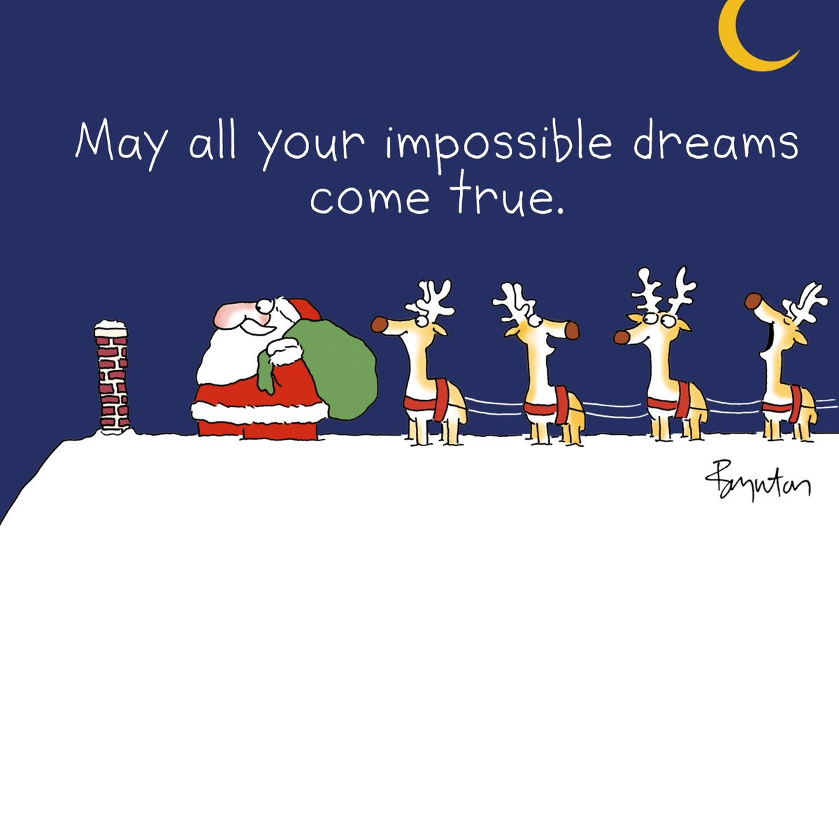 A wish for you on Christmas Eve. #ChristmasEve #optimism