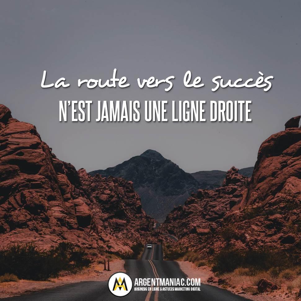 La route vers le succès n'est jamais une ligne droite #citation #citationmotivante #citationinspirante #citationdujour #motivation #inspiration #réussite #succès #route #quote #quoteoftheday #success #successmotivationpic.twitter.com/PMBhqYGKKH