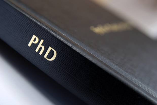 how long does it take to get a phd