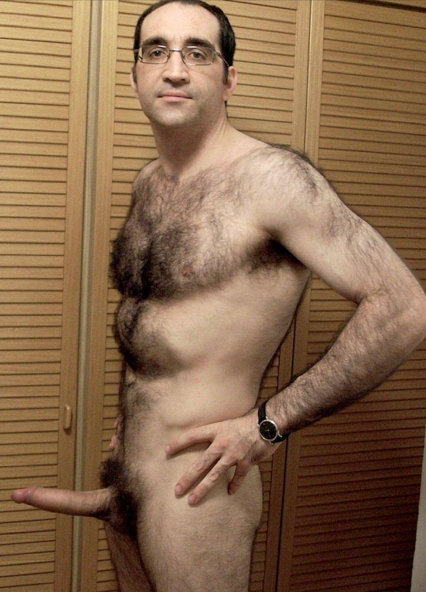 Hairy Stud Darius Naked