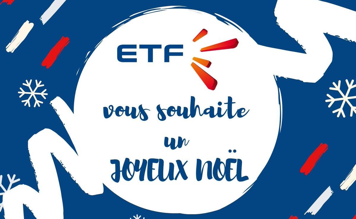 Les équipes d'ETF vous souhaite à toutes et à tous de très bonnes fêtes de fin d'année ! Nous vous retrouvons en 2020 pour partager avec vous toutes les actualités qui rythment notre quotidien ! #JoyeuxNoël #AvancerEnsemble #ETFpic.twitter.com/k7iW1UzRPq