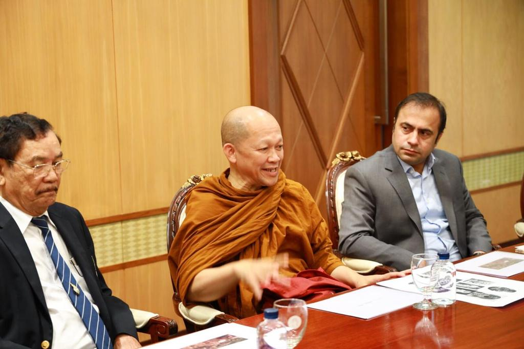 After witnessing efforts of #KPTourism under Sr. Minister @AtifKhanpti, the Thailand government is interested in:  1: Restoringe Bhamala Buddha  2: Once again 30 Buddhist monks visiting in March' 20....  1/3  #KPArchaeology #KPKUpdates<br>http://pic.twitter.com/TX3lu5WMT9