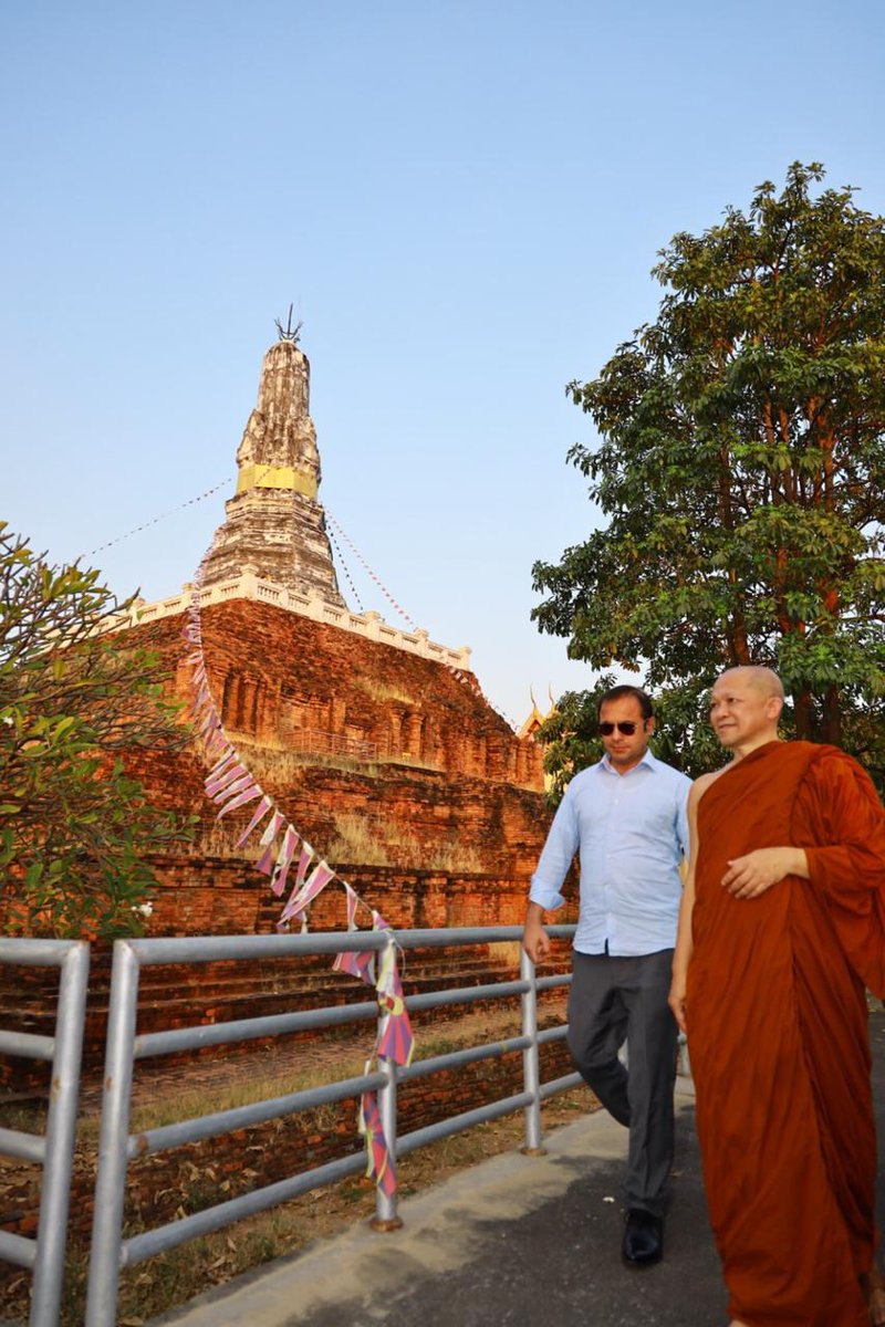 3: On 6th May 2020 around 100 monks to visit and will attend KP Archaeology's International Gandhara conference.  4: Gandhara exhibition at National Museum Thailand.  @AtifKhanpti 2/3  #KPTourism <br>http://pic.twitter.com/MvIyFNFmPC