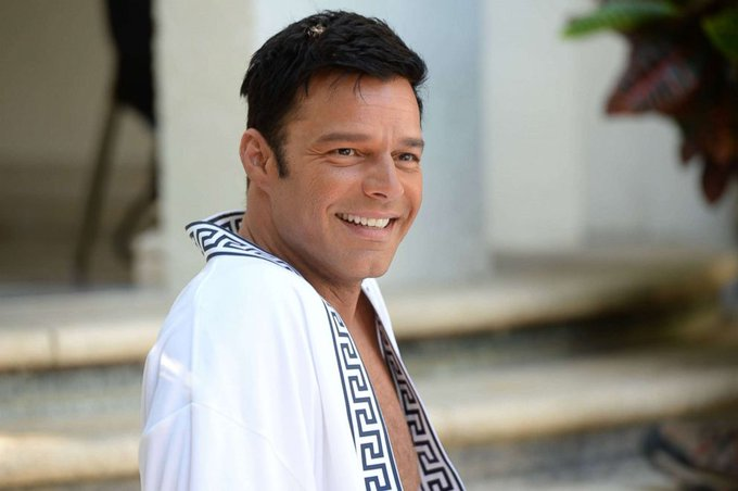 Happy Birthday to singer, actor, author and humanitarian Ricky Martin born on December 24, 1971