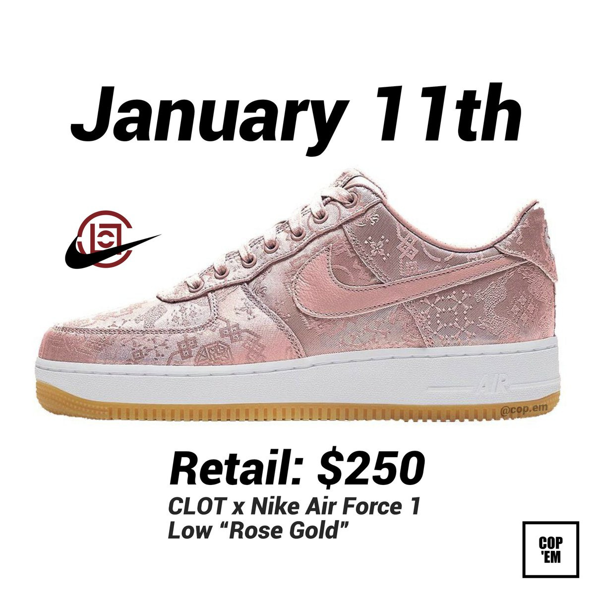 nike air force 1 hashtag on Twitter