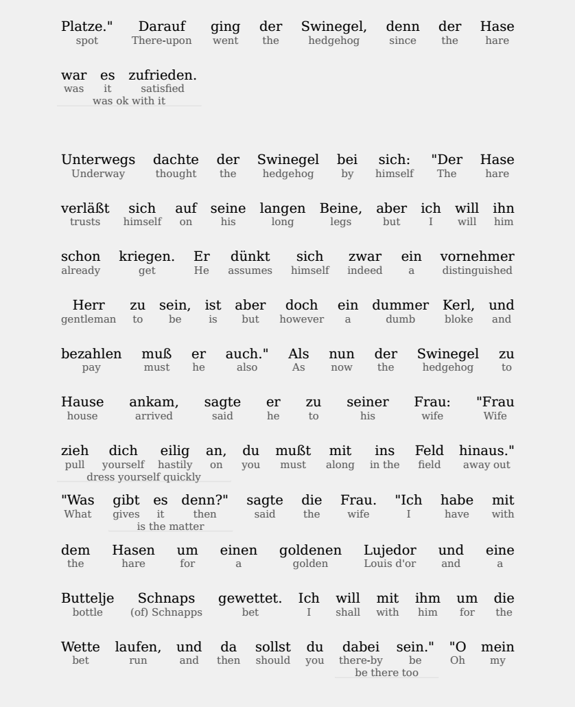 Read and learn German or 19 other languages with interlinear stories: https://www.amazon.com/s?k=hyplern+interlinear… #languages #language #languagestudy #foreignlanguages #foreignlanguage #learngerman #germanlessons #germancourse pic.twitter.com/qfTALoSr0G