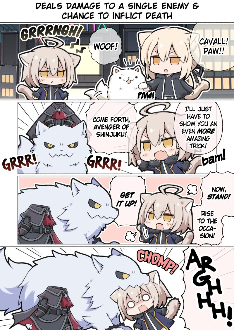 Kemosaba - Shinjuku Dog Show (Translated) [ROYALCAT] #FGO https://redd.it/ef3coi pic.twitter.com/GKydxx68pz