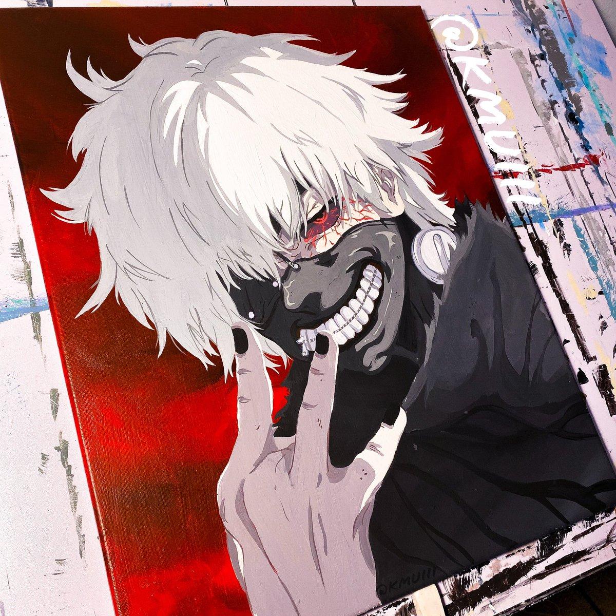 Who should i paint next? #tokyoghoul #animepainting #anime #painting #acrylic #kanekiken #kaneki #manga #artist #art #paintpic.twitter.com/FBYHs3lXUe
