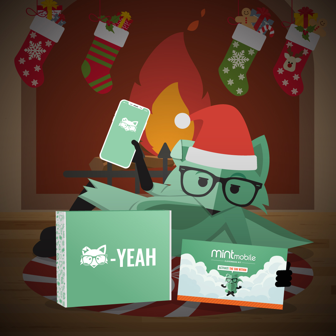 🎉LAST GIVEAWAY🎉  It's the FINAL day of Mintmas 2019 & the gifts are coming in 🔥RT this post & follow @mintmobile for a chance to win:  🎁 1 YR OF SERVICE 🎁 1 iPHONE 🎁 1 FOX BOX 🎁 2 MOVIE TICKETS 🎁 A SPOTIFY GIFT CARD 🎁 WIRELESS BLUETOOTH HEADPHONES 🎁 AND... https://t.co/mmbGnpyksu