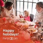 Image for the Tweet beginning: Mindexcoin wishes you happy holidays!  #mindex