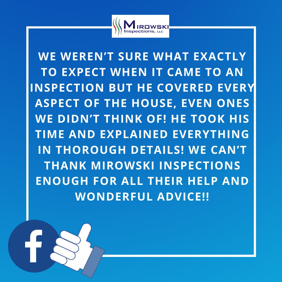 We strive to be your home inspector and the company you trust when buying or selling real estate.  #thankyou #mirowskiinspections #homeinspections #homeinspector #realestate #inspectorlife #ashiinspectors #inspectionbusiness #homeinspectorsnearme #homemaintenance #housespic.twitter.com/7d74cFAr2g