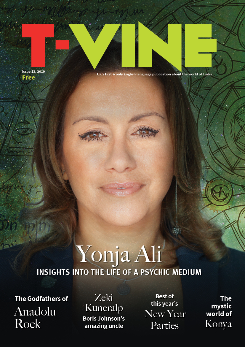 "T-VINE Magazine on Twitter: ""Psychic medium Yonja Ali on the cover ..."