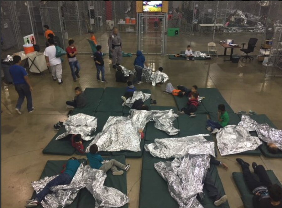 Hundreds of kids in Texas are spending Christmas Eve taking care of each other. Freezing cold, insufficient food, water, medical attention, hygienic resources. No contact with their parents. Many as young as 1.