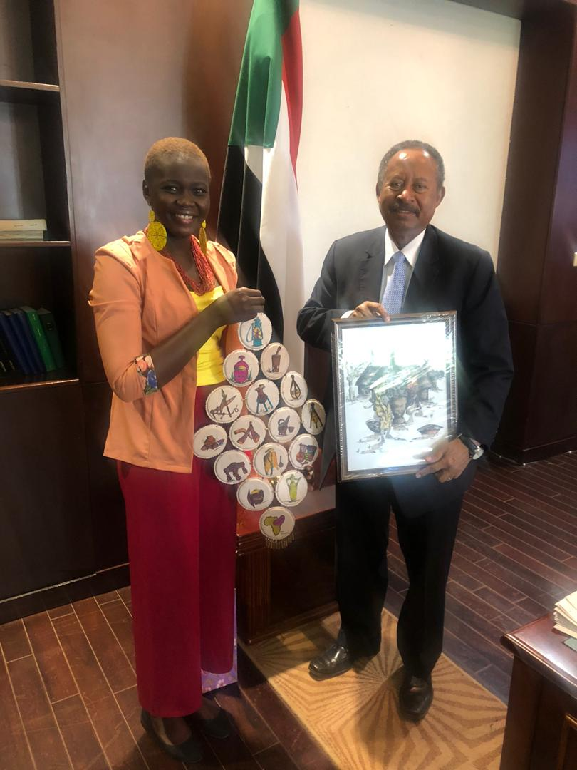 I was delighted to receive my Christmas gift from our colleague Natalina Yacoub, whose hard work is exemplary and inspiring. This is the Sudan we dream of. One that respects diversity and enables all Sudanese citizens to practice their faith in a safe and dignified environment. https://t.co/YpNfEswhS2