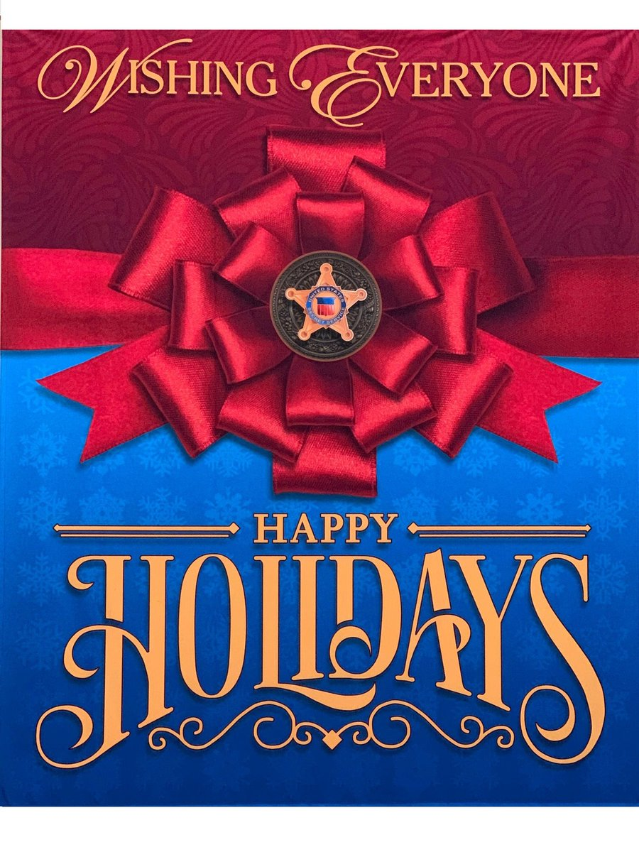 The Secret Service Family wishes you and your family a safe and wonderful holiday season.