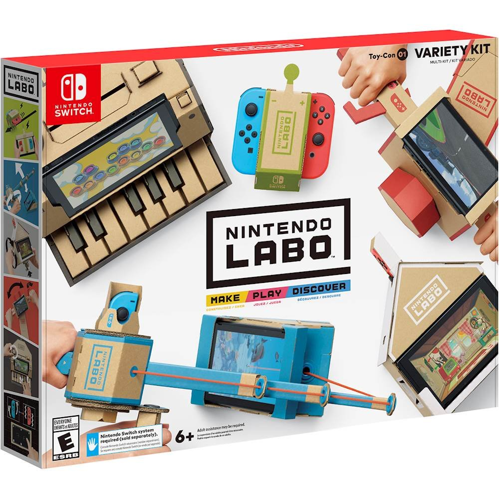 A few more #Top #ChristmasToys of #2019  6. #Nintendo Labo Kit  7. #PowerWheels wild things ride on toy.  8. #CreatableWorld deluxe #Character kit.  9. #SmartPixelator  10. #ScruffALuvs interactive toy #pets