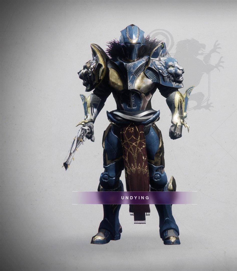 Here's my Titan, Galahad, dressed in his Dawning best. Happy Dawning, everyone!! :) #Destiny2 #Dawning2019 #FashionWeekpic.twitter.com/HglhKhY2sX
