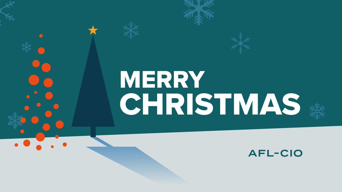 #MerryChristmas from America's Labor Union. #1u #Christmas
