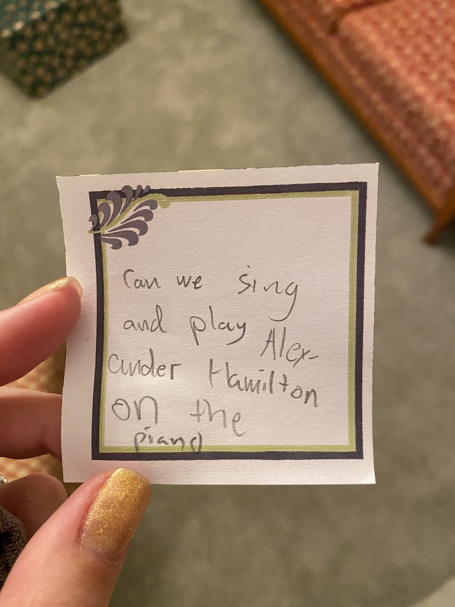 Heebie Gibis On Twitter My Cousins Kid Just Came Up To Me And Slipped Me This Note Spoiler Alert We Did