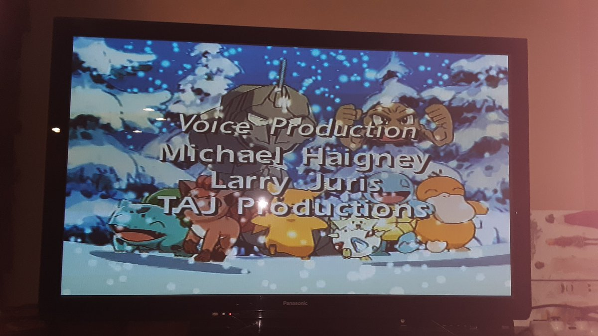 Watching my old Pikachu's Winter Vacation DVD and playing Sword and Shield with my brother  #hardcoreparkour #pokemon #pokemonchristmas #MerryChristmasEve #MerryChristmas2019pic.twitter.com/IAfAxk5KLo