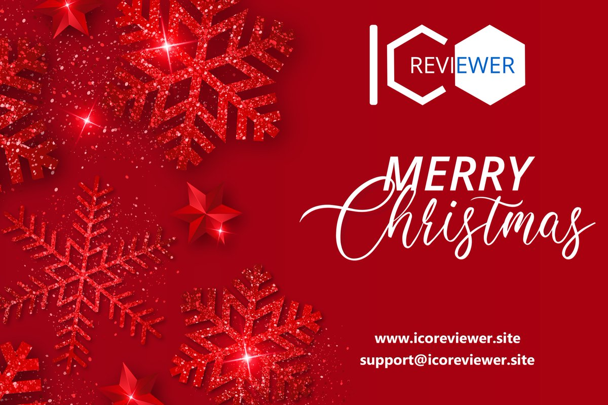Wishing you a healthy and happy Christmas.  Merry Christmas to everyone from Team ICOReviewer  Visit: http://www.icoreviewer.site  #icoreviewer #ico #merrychristmas2019 #christmas #blockchain #icolisting pic.twitter.com/k7dOVSZyGt