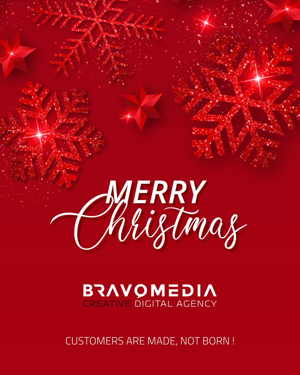 BECAUSE OF YOU, EVERY #CHRISTMAS AT #BRAVOMEDIAWLL IS NICER THAN THE LAST. YOU HELP MAKE US A BETTER COMPANY. #MERRYCHRISTMAS TO YOU AND YOURS. #sidehustle #Bahrain #Saudi #MobileApp #StartupBahrian #BahrainFintech #socialmedia #christmas https://t.co/AwlnzbuMGz