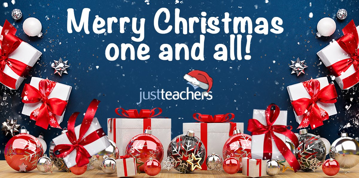 test Twitter Media - We wish you a very Merry Christmas. Best wishes, from all at justteachers! https://t.co/HILgkVcPCZ