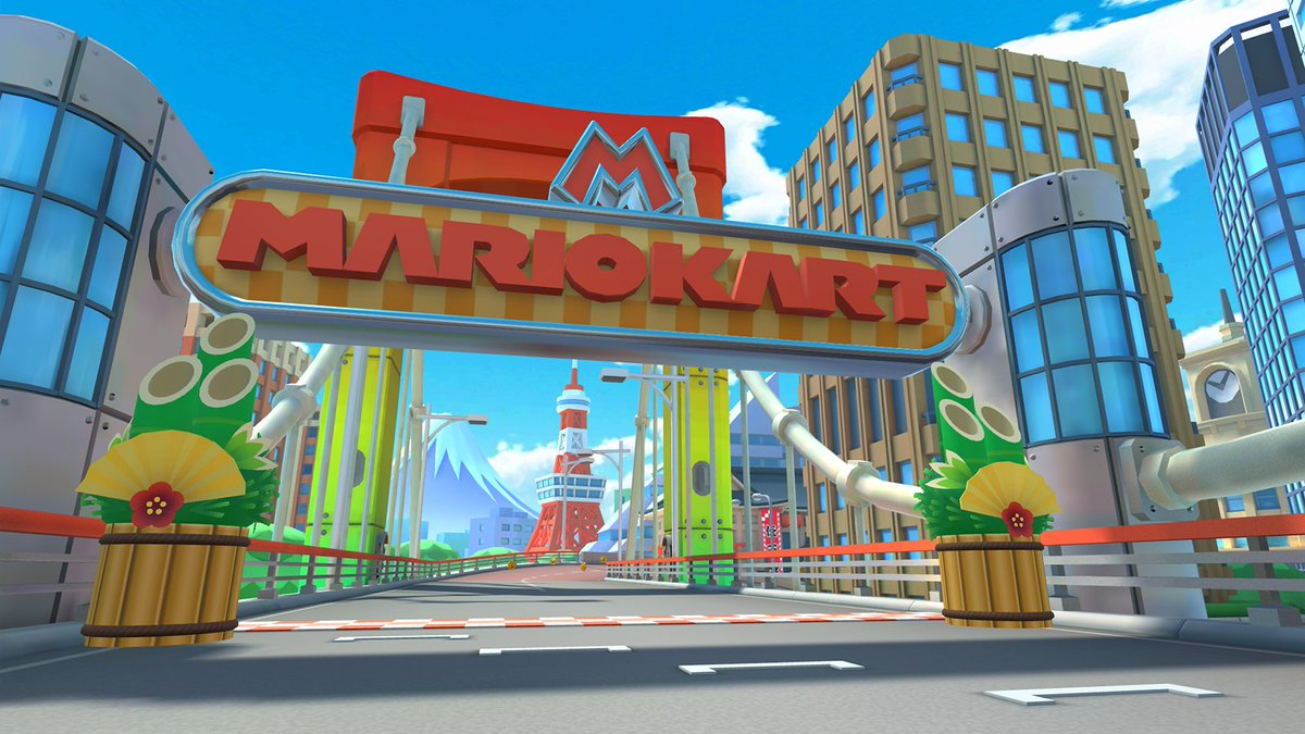 Mario Kart Tour On Twitter Japan S Most Famous City Is