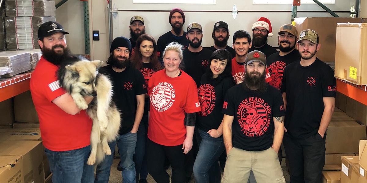 Merry Christmas from the Badass crew! #badassbeardcare #dontfearthebeard #beardcare #menstyle #mensgrooming #beardedvet #veteranownedpic.twitter.com/0iV3WaAMbG