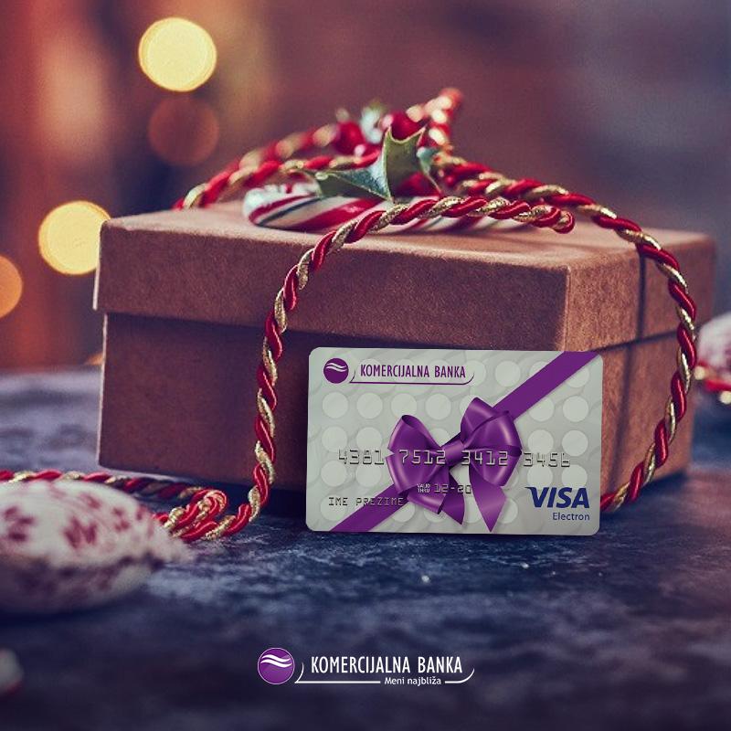 Najljepši pokloni čuvaju se za najljepše trenutke - http://bit.ly/VisaPrepaidGift! 🎁🤩