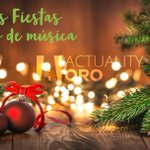 Image for the Tweet beginning: ¡Felices fiestas con #SóloÉxitosOro! 🎵🎄🎅🏻