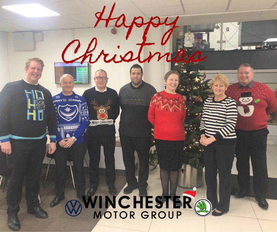 Happy Christmas from us all at The Winchester Motor Group 🎅🏼Remember to drive safely 🚘